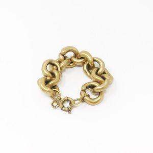J. Crew Classic Jenna Chunky Chain Link Bracelet